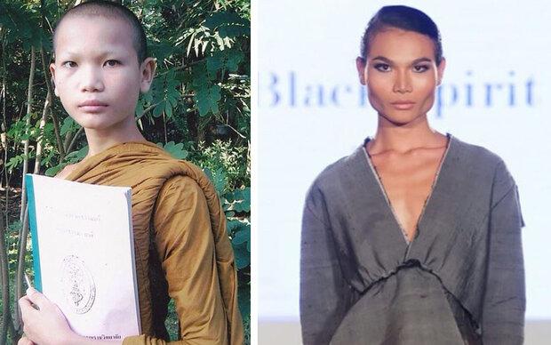 Von Mönch zum Transgender-Supermodel