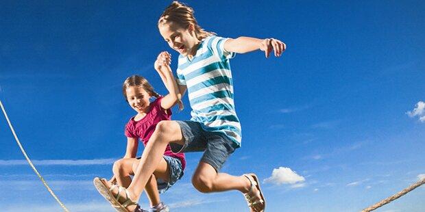 Regelmäßige Bewegung macht Kinder schlau