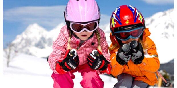 Skifahren auf der Hohen Wand Wiese