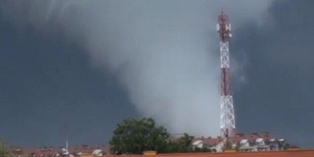 Tornados rasen über Polen: schon 1 Toter