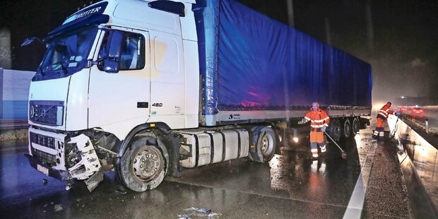 Lkw-Fahrer lieferte sich Verfolgungsjagd mit Polizei