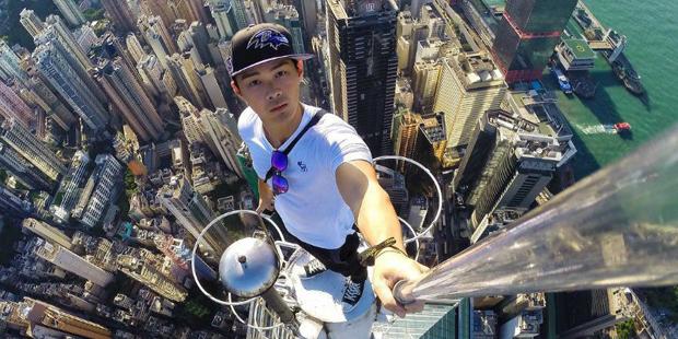 DAS sind die gefährlichsten Selfies der Welt