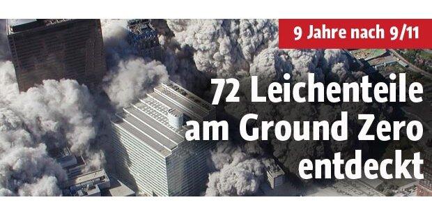 Leichenteile am Ground Zero entdeckt