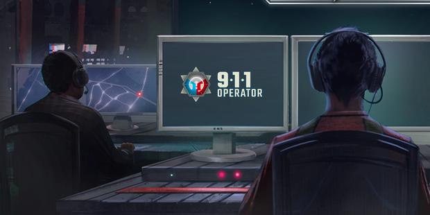 911 Operator: Notrufzentrale bitte melden