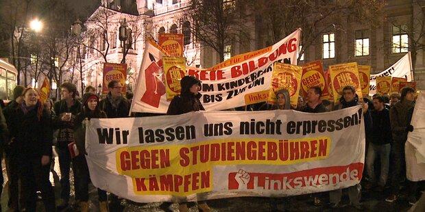 Wien: Studenten-Demo für freie Bildung