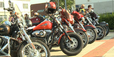 Kick Off zur Harley Davidson Charity Tour