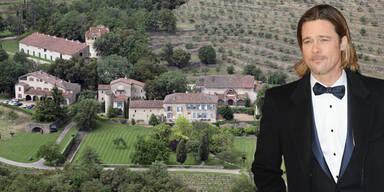 Brad Pitt: Château Miraval