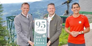 95 Jahre Rax-Seilbahn - Innovationstreiber feiert Jubiläum
