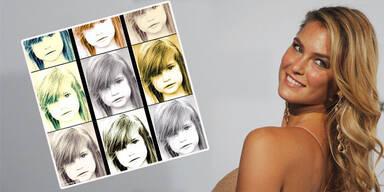 Bar Rafaeli zeigt Kinderfoto