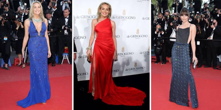 Stone & Jovovich verzaubern Cannes