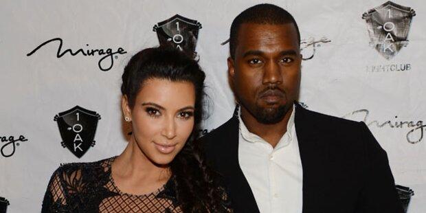 Kardashian: Babyparty mit Kanye im TV