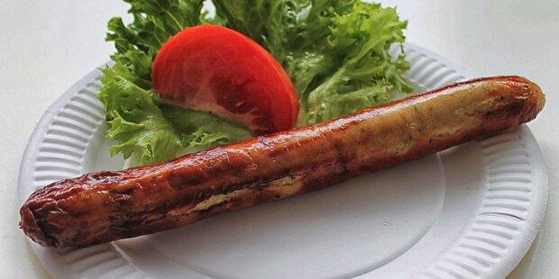 Thüringer Bratwurst vom Holzofengrill