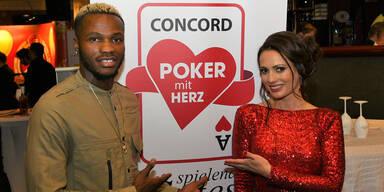 Pokerspieler mit Herz