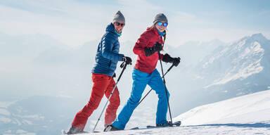 Schneeschuh-Testival in Tirol