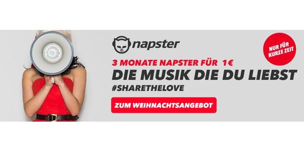 Anzeige Napster