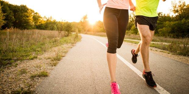 Laufen für einen guten Zweck