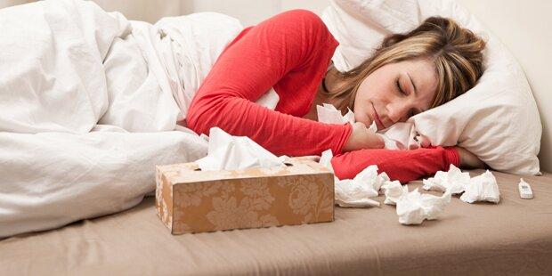 Influenza - Neuerkrankungen in Wien stabil