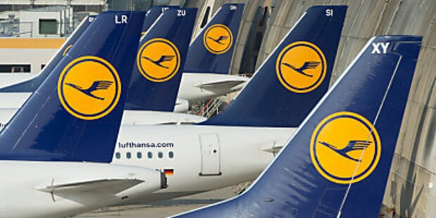 Lufthansa-Streik auch in Österreich