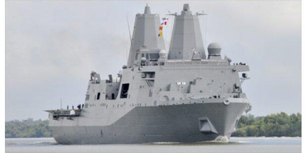 US-Kriegsschiff aus 9/11-Stahl gebaut