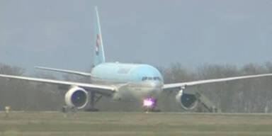 Bombendrohung: Flugzeug muss landen
