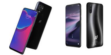 A1 bringt zwei eigene Smartphones