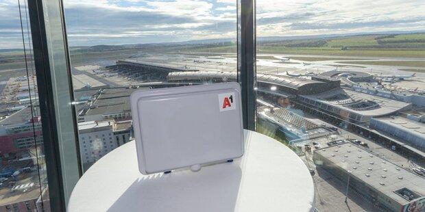 A1 startet Pre5G am Flughafen Wien