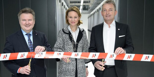 Neues Rechenzentrum von A1 eröffnet