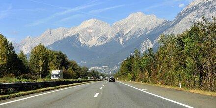 Tirol sperrt Abschnitte um Autobahnabfahrten
