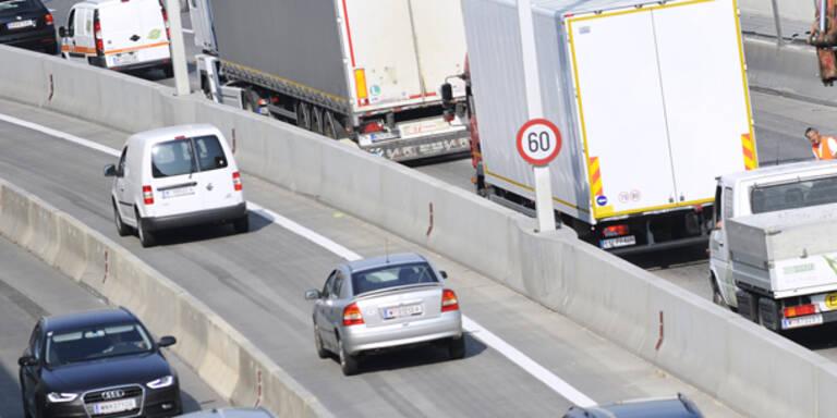 Die meist befahrene Autobahn ist die A23