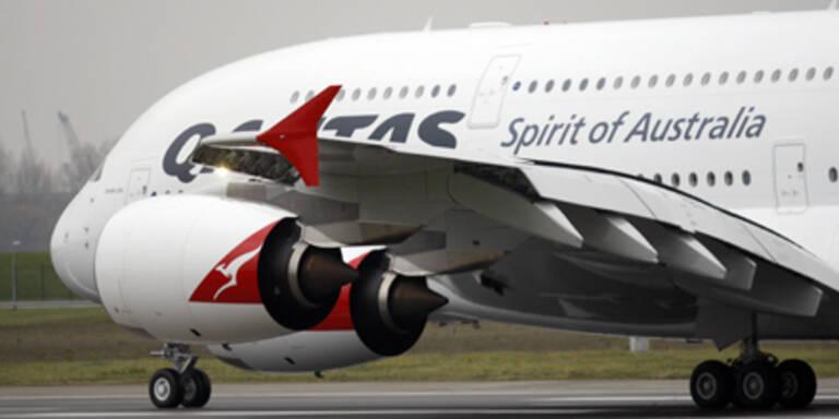 Airline Qantas fliegt wieder