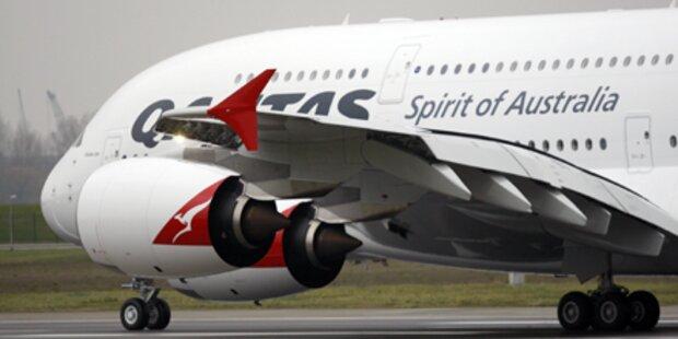 A380 von Qantas bleibt vorerst am Boden