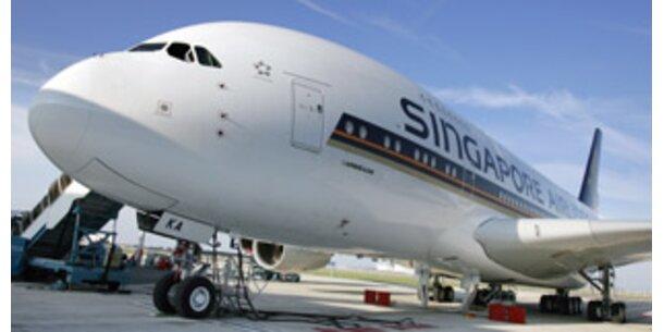 Premierenflug des Airbus A380