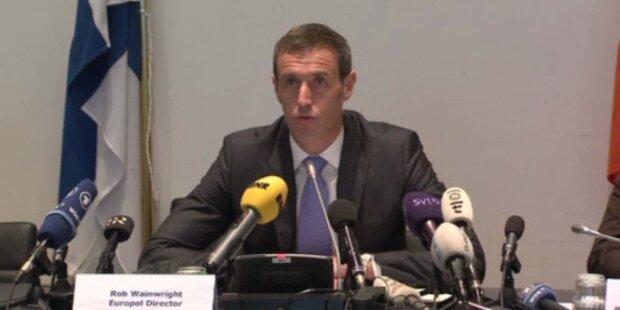 Europol deckt internationalen Wettskandal auf