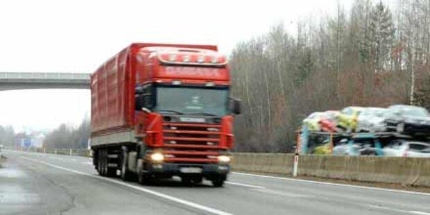 Lkw-Lenker fasst Geisterfahrer
