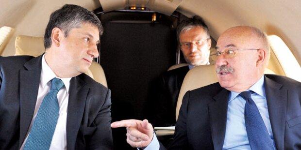 ÖVP-Minister fliegen seit Neuestem nur Holzklasse