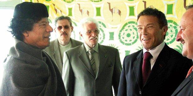 Gaddafi-Gelder für Haider-Wahlkämpfe?