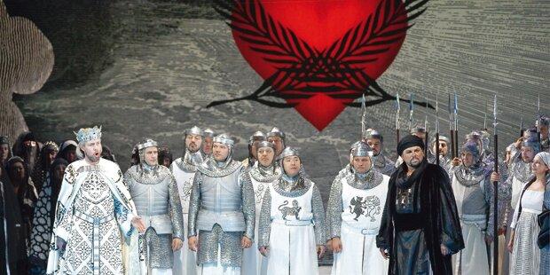 Ritter, Riesenherz und Friedenspalmenwedel