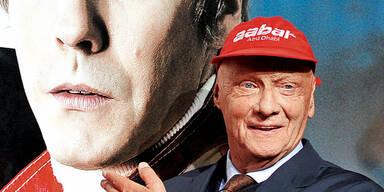 """Niki Lauda zeigt seinen """"Globe""""-Style"""