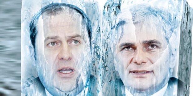 Eiszeit in der Koalition