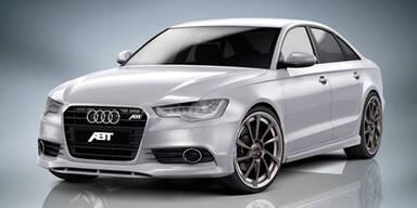 Abt motzt neuen Audi A6 und R8 Spyder auf
