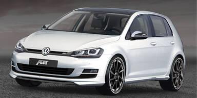 Neuer VW Golf VII bereits getunt