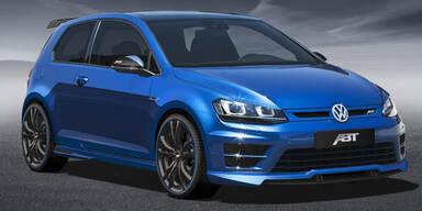 Neuer VW Golf VII R mit 370 PS