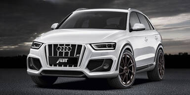 Abt möbelt den neuen Audi Q3 auf