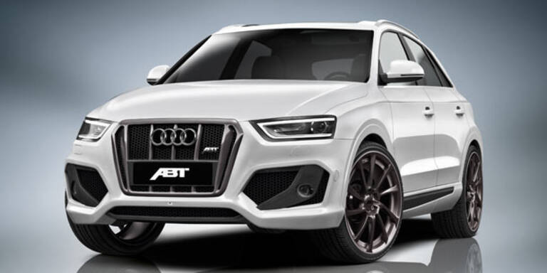 QS3: Start für den Audi Q3 von Abt