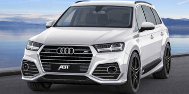 Brandneuer Audi Q7 bereits getunt