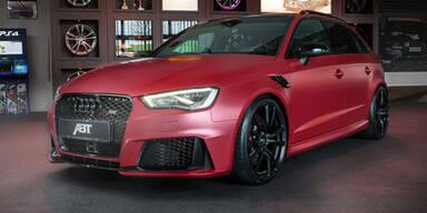 Audi RS3 mit irrwitzigen 450 PS