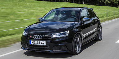 Audi S1 mit brachialen 310 PS