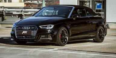 Audi S3 Cabrio mit satten 400 PS