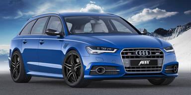 Audi S6 (Avant) mit satten 550 PS