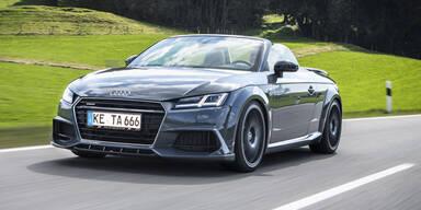 Scharfe Version des Audi TT Roadster